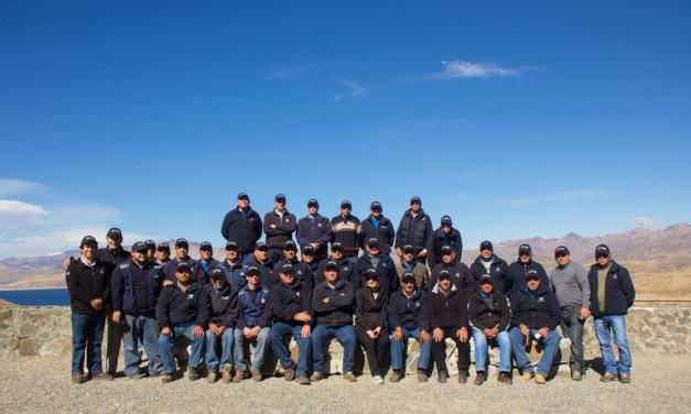 Celadores de la Asociación Canal Maule conocieron la Laguna del Maule