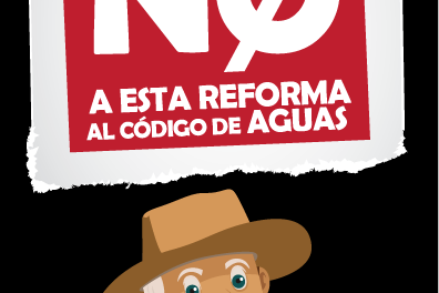 No a esta Reforma al Código de Aguas