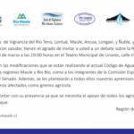 Debate por Reforma al Código de Aguas