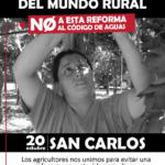 Reserve la Fecha!!! EL mundo rural necesita Agua y Seguridad